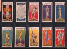 Fortune telling cigarette cards 1937 Astrology set